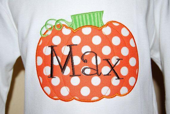 Pumpkin trio applique embroidery designs