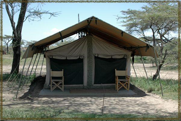 Permanent safari tent camp exterior camping pinterest for Permanent camping tents