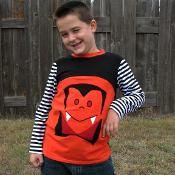 Mac's Monster T-shirt - via @Craftsy