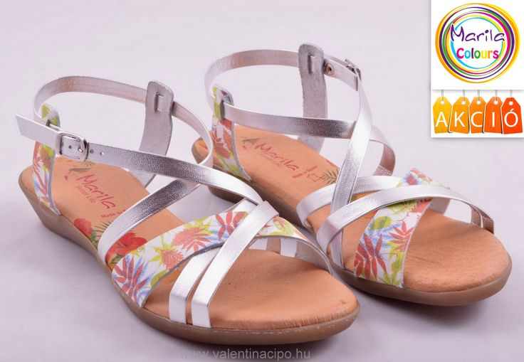 Spanyol Marila szandál, akciós áron vásárolható a Valentina Cipőboltokban vagy rendelhető webáruházunkból (35-től 41-es méretig). Csak egy kattintás 😉  http://valentinacipo.hu/marila/noi/metal/szandal/146693840  #marila #marila_szandál #Valentina_cipőboltok #akció #nyári_vásár