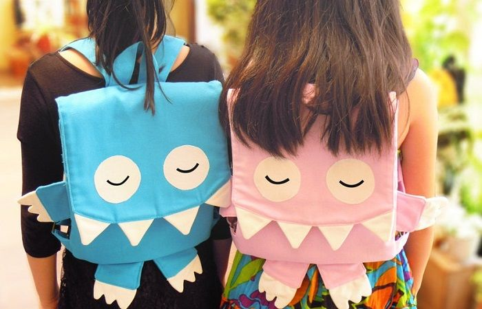 Backpacks For Kids That Are Cool & Unusual | Monster backpacks by JEE Oliver.
