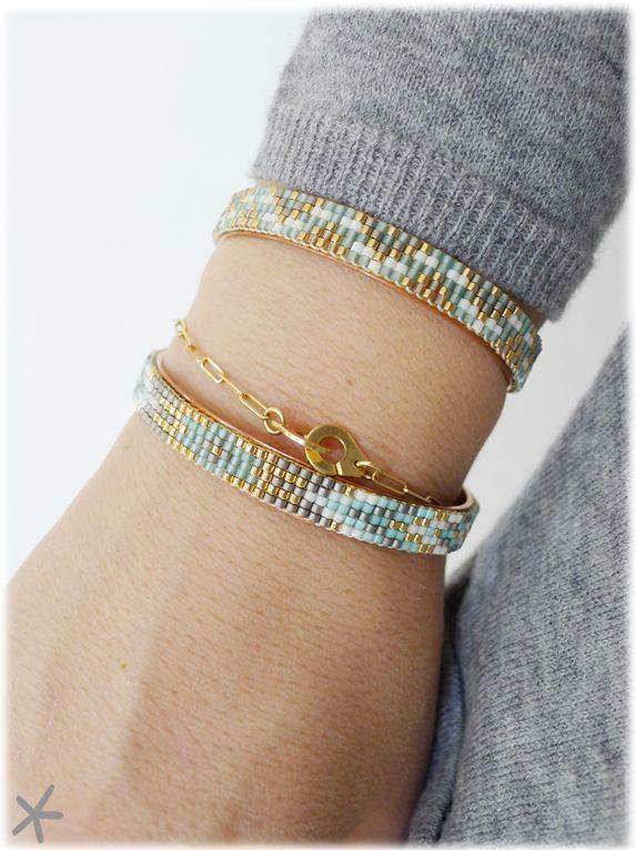 Mon petit bazar, bracelet tissé