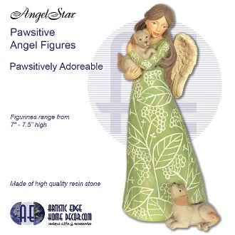 Pawsitives Angel Figurines - Pawsitively Adorable