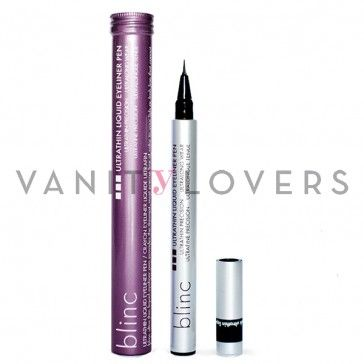 L'Ultra Thin Eyeliner della Blinc vanta il pennellino più sottile al mondo per uno sguardo definito e preciso.