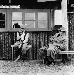 Ans Westra  Coronation Hui, Turangawaewae, Ngaruawahia , 1962 Silver gelatin print 280 x 280 mm  _______