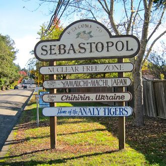 Welcome to Sebastopol, California