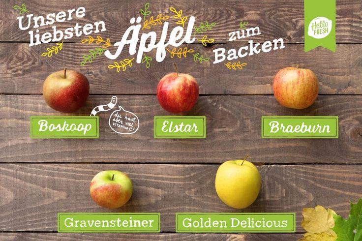Äpfel zum Backen: 5 Sorten