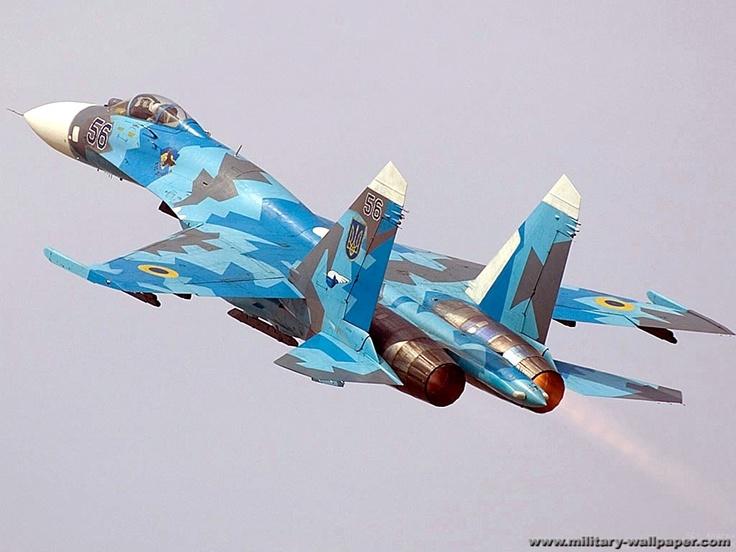 """Sukhoi Su-27 """"Flanker"""", fighter 1977"""