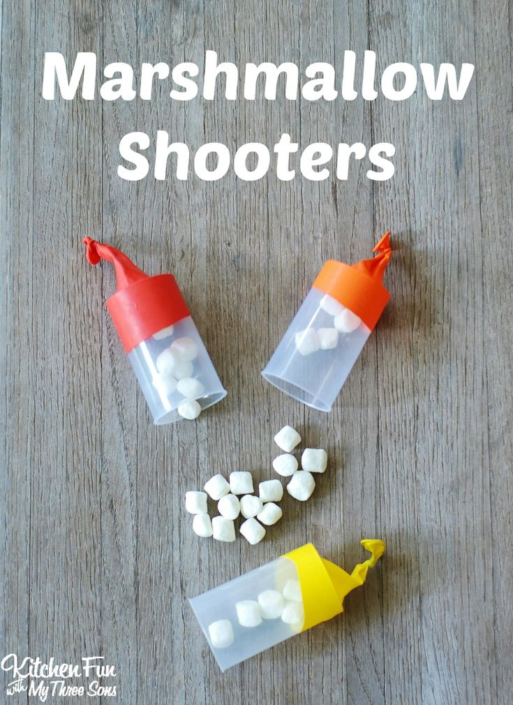 Marshmallow Shooters...a fun summer craft and activity the kids will love from Smart School House Crafts for Kids!