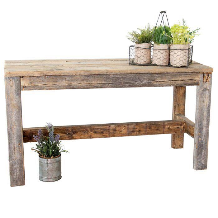 Marsh Reclaimed Wood Bench
