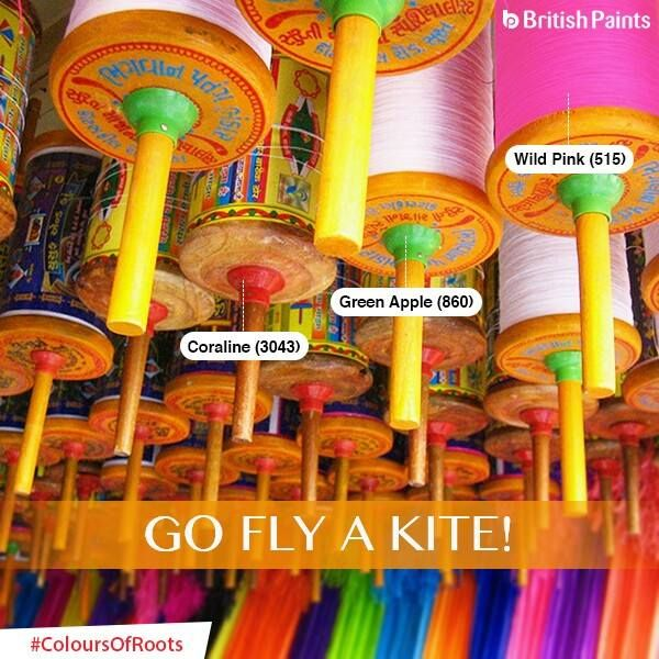 Kite flying and India have a colourful relationship of rituals, festivals and tradition. Kites are an integral aspect of a colourful life, wouldn't you agree? #ColoursOfRoots