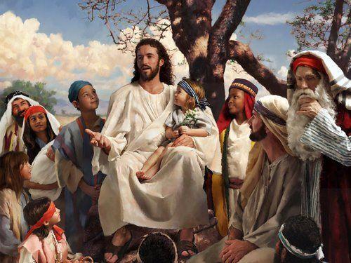 Cristo Abençoa as Crianças