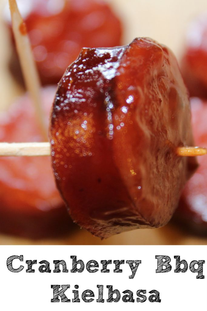Slow Cooker Cranberry Bbq Kielbasa