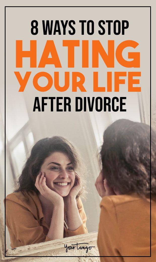 8 Ways To Stop Hating Your Life After Divorce | Breakups | Divorce