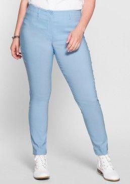 Úzké, strečové kalhoty, sheego Casual #avendro #avendrocz #avendro_cz #fashion #plussize #trousers