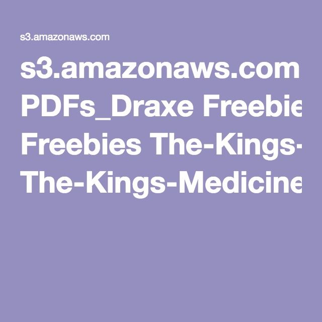 The-Kings-Medicine-Cabinet.pdf essential oil guide | essential ...