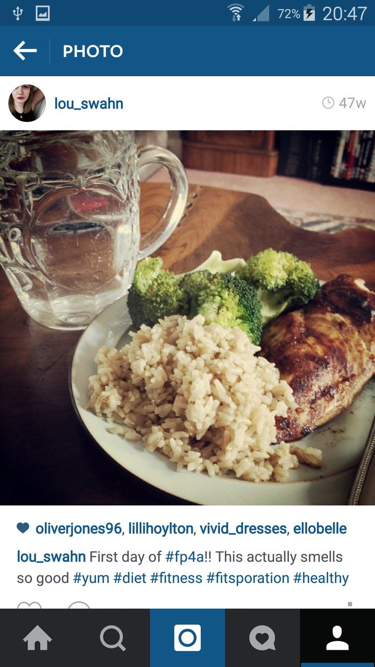Again, chicken for dinner! Brown rice is a great alternative to white - much more wholegrains, making for a flavourful, healthy meal!