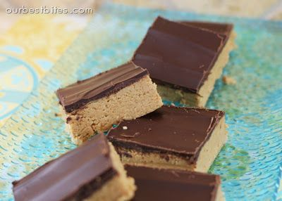 Reese's Peanut Butter Bars {No Bake!} - Our Best Bites