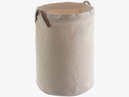 INNES WHITES Fabric Natural canvas laundry bag - HabitatUK