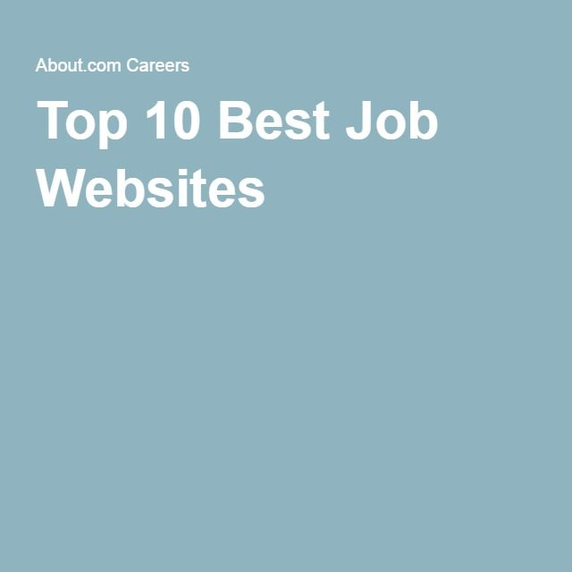 top career websites