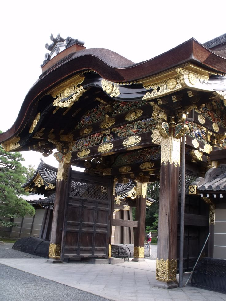 Nijo Castle, Kyoto, Japan.  I loved this place, but the nightingale floors might have gotten to me.