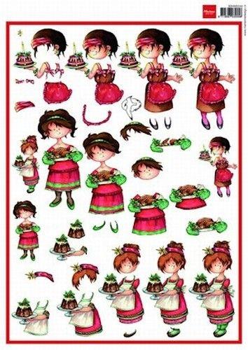 Nieuw bij Knutselparade: 0134 Marianne Design snoesjes kerst 3DHM 0044 https://knutselparade.nl/nl/kerstmis/8382-0134-marianne-design-snoesjes-kerst-3dhm-0044.html   Knipvellen, Kerstmis -  Marianne Design