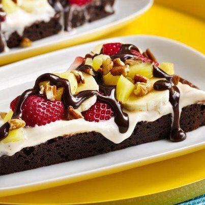 Fruit and chocolate cake recipe