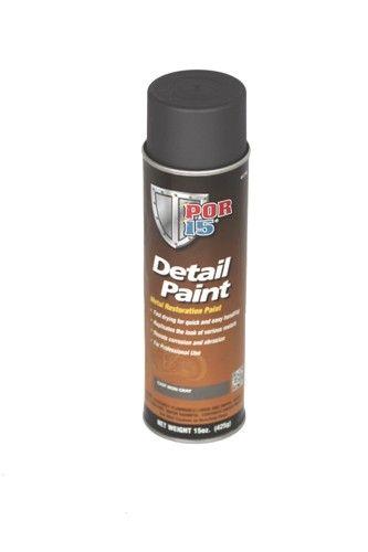 POR15 Detail Paint Aerosol - Cast Iron (425gm)