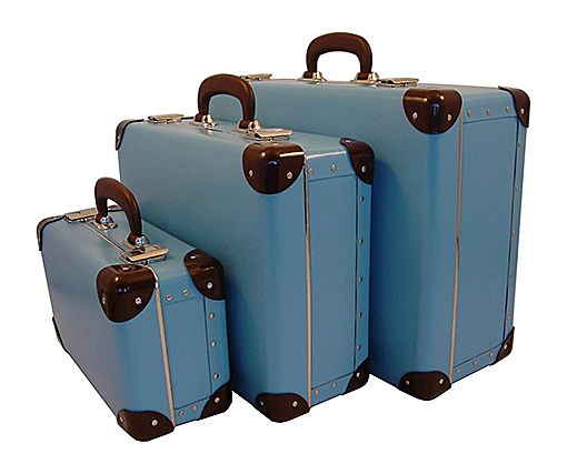 Of course, if your vintage suitcase is still road-worthy, it might just need a freshening up to bring it into the 21st century.
