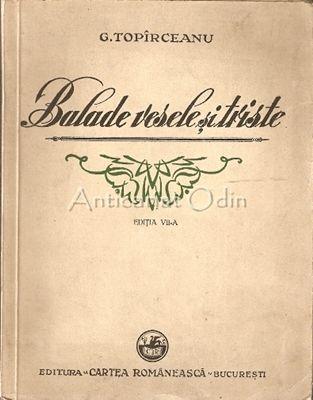 Balade Vesele Si Triste - G. Topirceanu