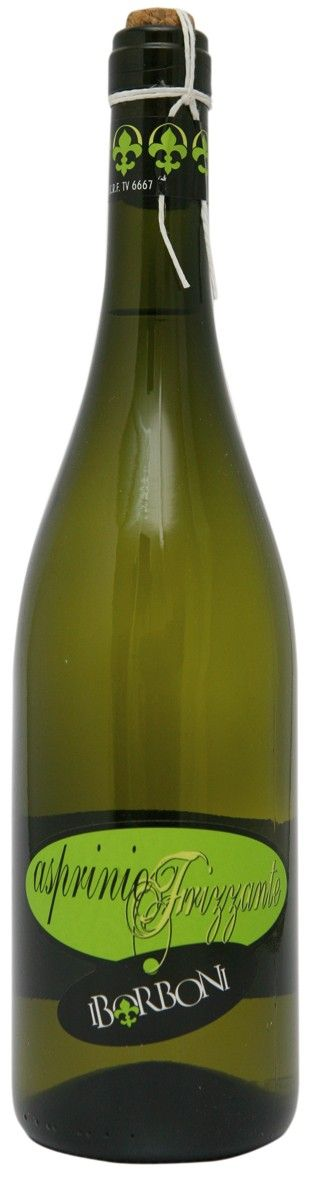 ASPRINIO FRIZZANTE SPARKLING WINE - I BORBONI  Excellent sparkling wine produced from #Asprinio grapes, grown in the wineyards of I Baroni winery.  Suitable for appetizers, buffet and desserts
