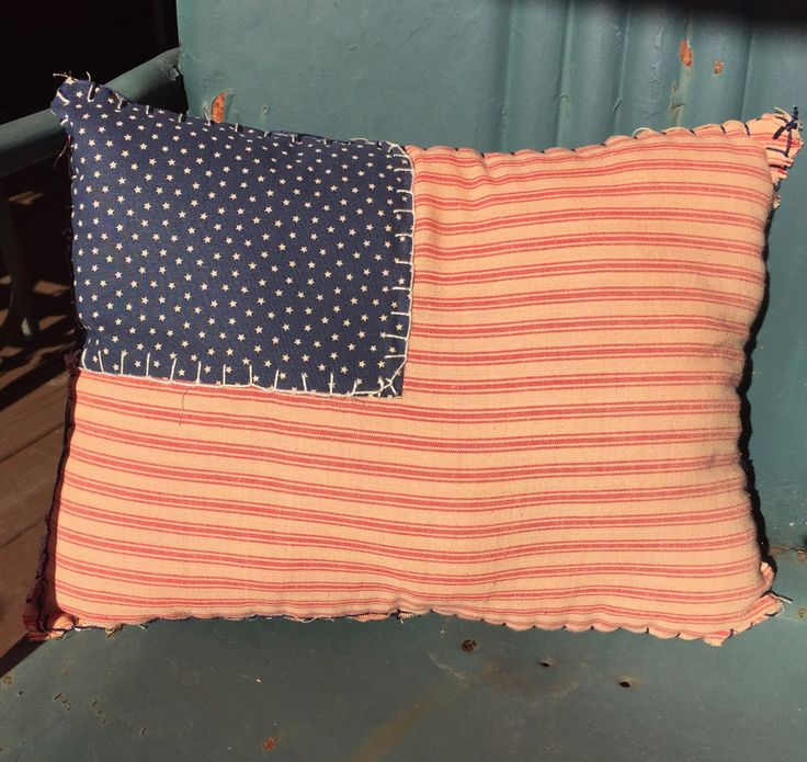 A personal favorite from my Etsy shop https://www.etsy.com/listing/491586723/primitive-americana-patriotic-flag