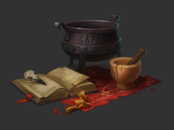 Wizard's table concept on Behance