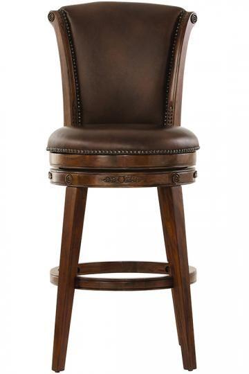 Nicholas Swivel Bar Stool - Bar Stools - Kitchen & Dining Room - Furniture   HomeDecorators.com