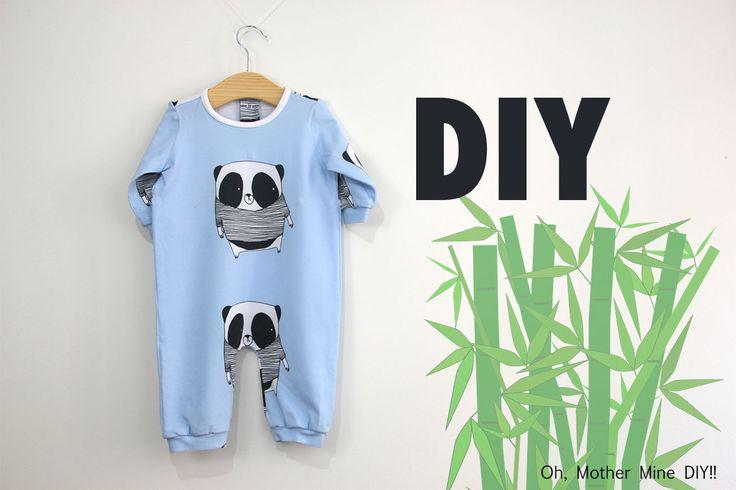 DIY Costura: Cómo hacer pijama de bebe (patrones gratis)