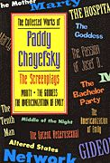 The Collected Works of Paddy Chayefsky (Softcover)