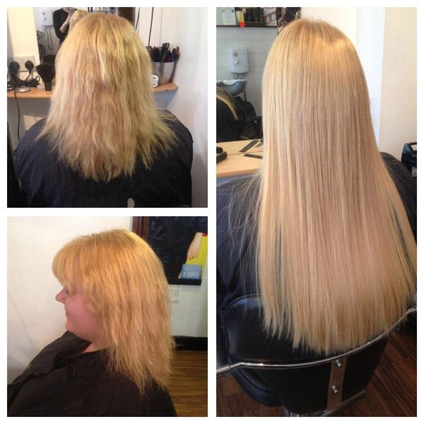 Great Lengths Hair Extensions  Before_After