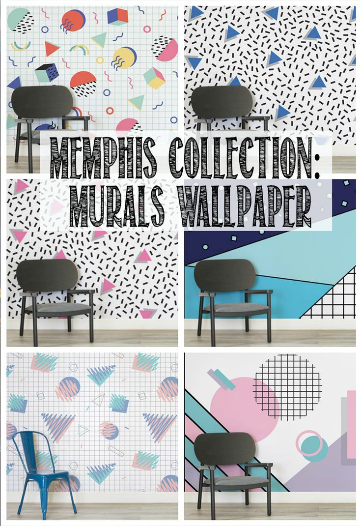 How amazing is the Memphis Collection from Murals Wallpaper? We've got one of these on our toddler's bedroom so click through to find out which one!