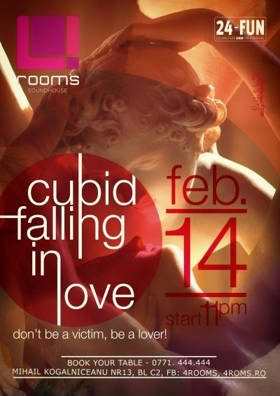 Cupid falling in Love @ 4 rooms Party