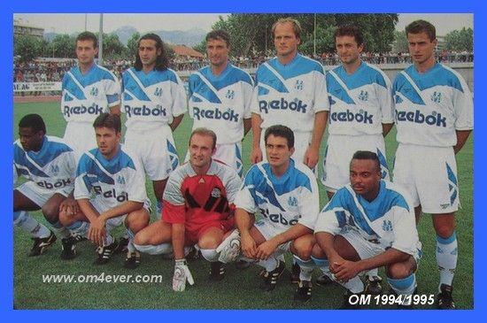 Olympique de Marseille, saison 1994-1995