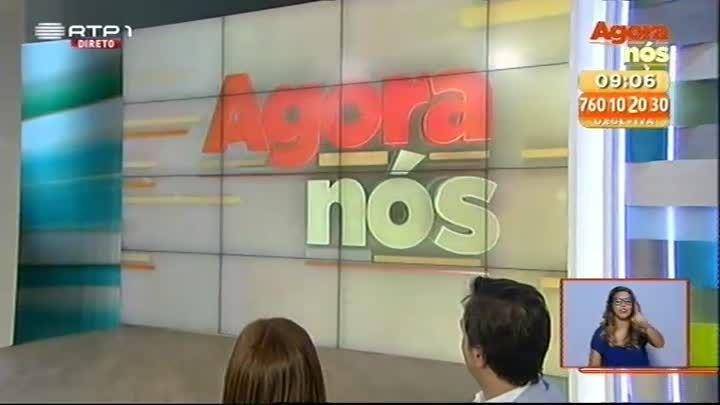 Os vídeos do Agora Nós, o programa das manhãs da RTP cheio de surpresas, jogos, dicas, alegria e muito humor. Com Tânia Ribas de Oliveira e Zé Pedro Vasconcelos.