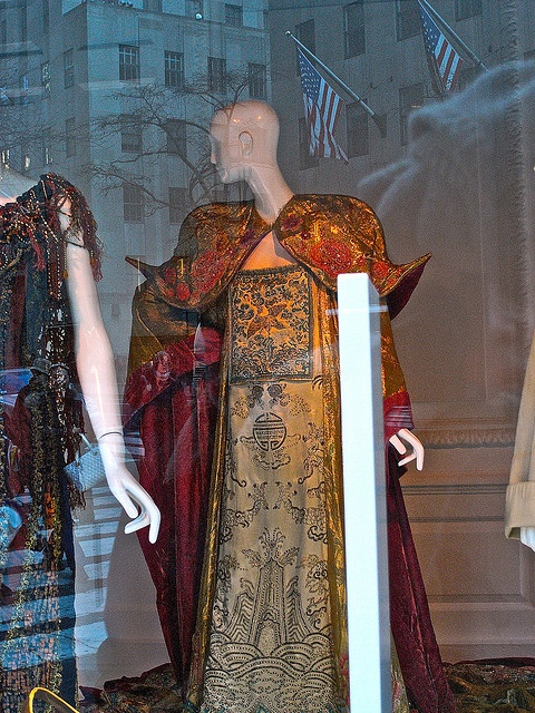 Maria Jeritza's Turandot costume by Robert Yanal, via Flickr