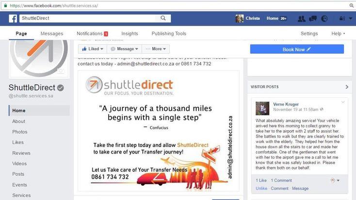 ShuttleDirect Drivers Treat Senior Citizen with outstanding