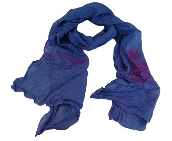 Blue And Pink Coloured Tie Dye Scarf $19.99    Visit EpicMart.ca