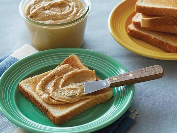 Homemade Peanut Butter from FoodNetwork.com