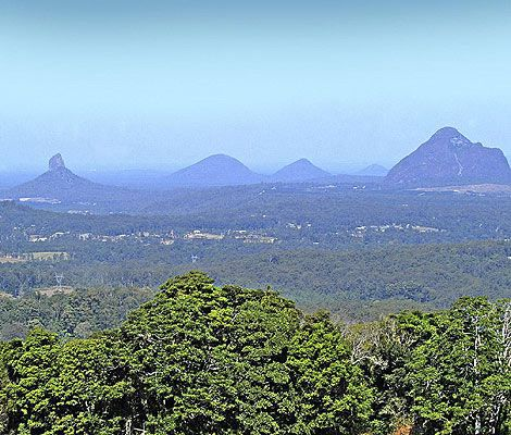 Glasshouse Mountains - The beautiful Sunshine Coast of Australia #airnzsunshine