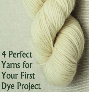 If you\'re a beginner interested in hand dyeing or painting your own yarns, use these tips to choose your yarn and dyes.