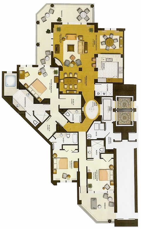 Luxury Floor Plans | Luxury Floor Plan Results – House Plans, Home Plans and Floor: