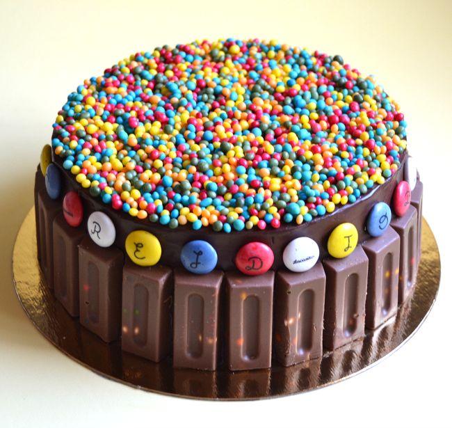 Tarta de chocolate y #Lacasitos