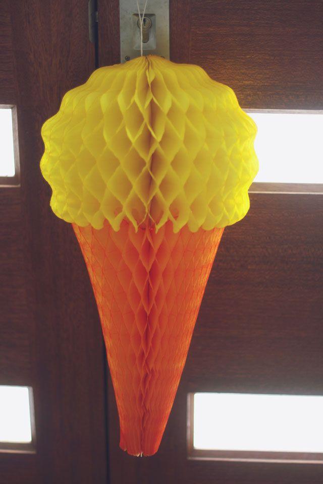 An ice cream party